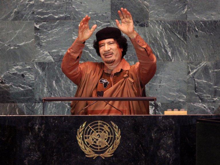 Муамар Каддафи лидер Ливии. «Джамахирийский социализм»