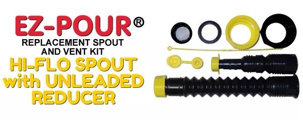Ez Pour Universal Fuel Amp Water Jug Spout