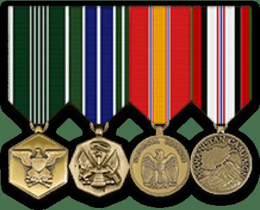 military ribbons rack builder