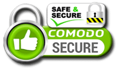 Comodo SSL Safe and Secure Online Shopping