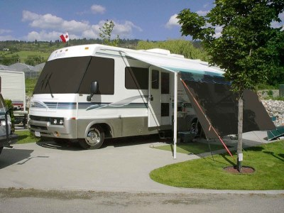 EZ Snap Exterior Blinds for RV Motorhomes