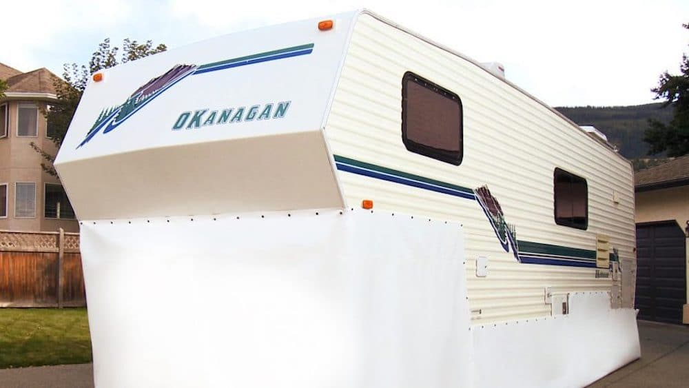 RV Skirting Kits | Save 80% - No Drill 3M™ fasteners | EZ Snap®
