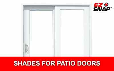 How to Install EZ Snap Shades on Sliding Patio Doors?