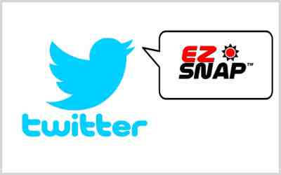 Follow EZ Snap on Twitter