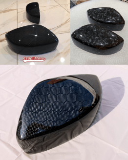 G37 Honeycomb Carbon Fiber Forged mirror covers
