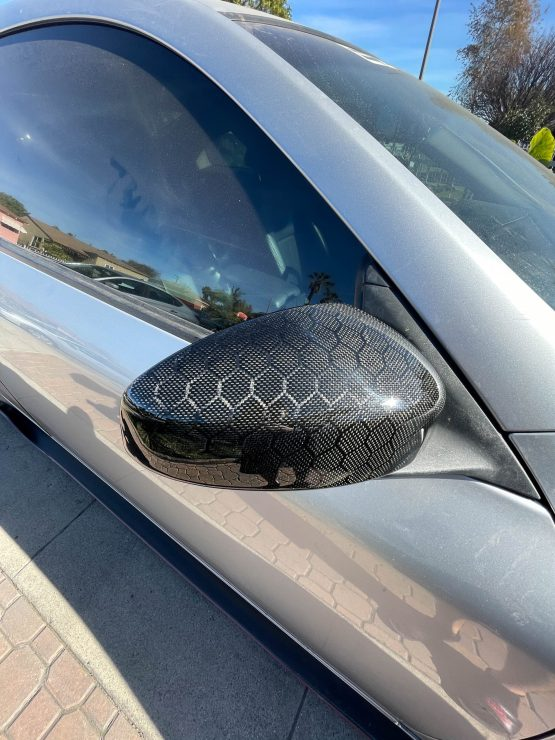 G35 Honeycomb carbon fiber side mirror covers