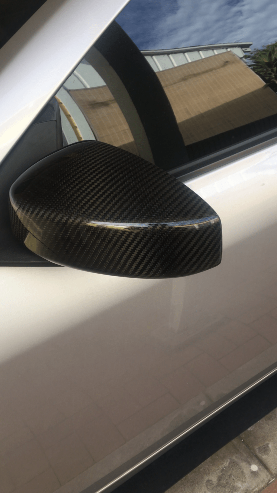 G35 coupe carbon fiber mirror covers
