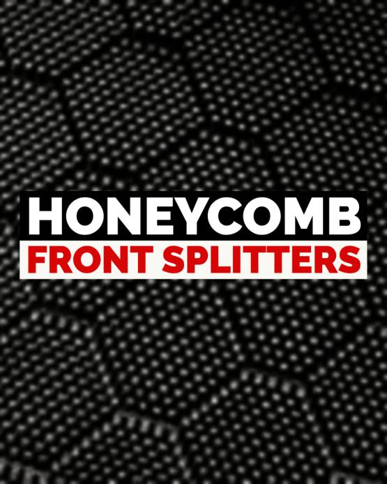 honeycomb front splitter