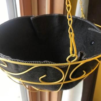 "12"" Hanging Basket With Ez Swap Replacement Liner"