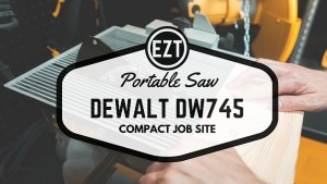 dewalt dw745 table saw