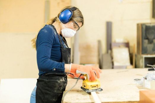 protective gear when sanding