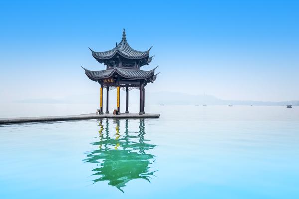 hangzhou lake pavilion
