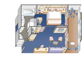 標準套房艙1