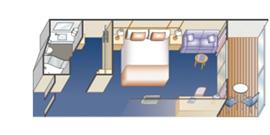 豪華陽台艙1