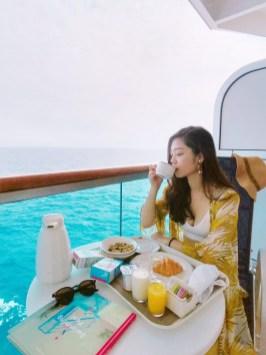 盛世公主遊輪_房內享用早餐