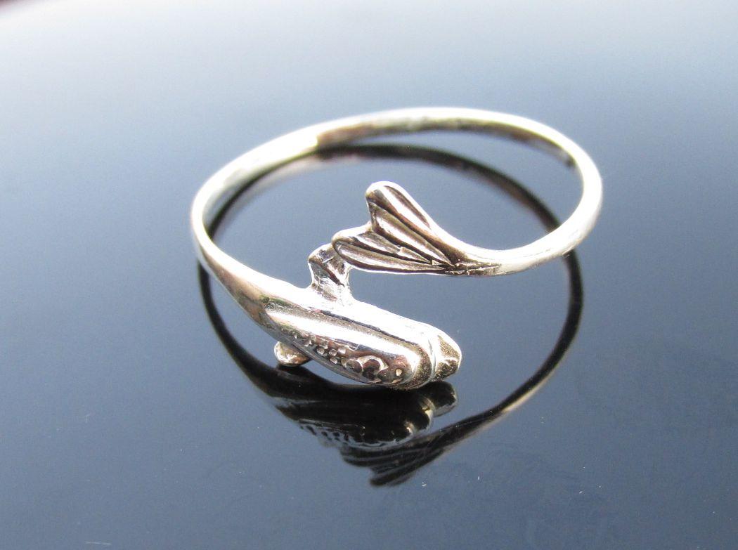 Ugró hal gyűrű