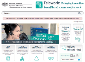Teleworking and the NBN image