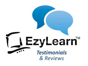 ezylearn testimonial and reviews image and logo