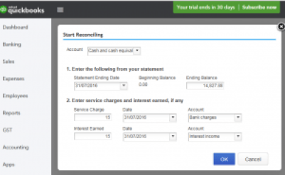 Intuit QuickBooks Online Bank Reconciliation & Journal Entries Training Course Screenshot 1