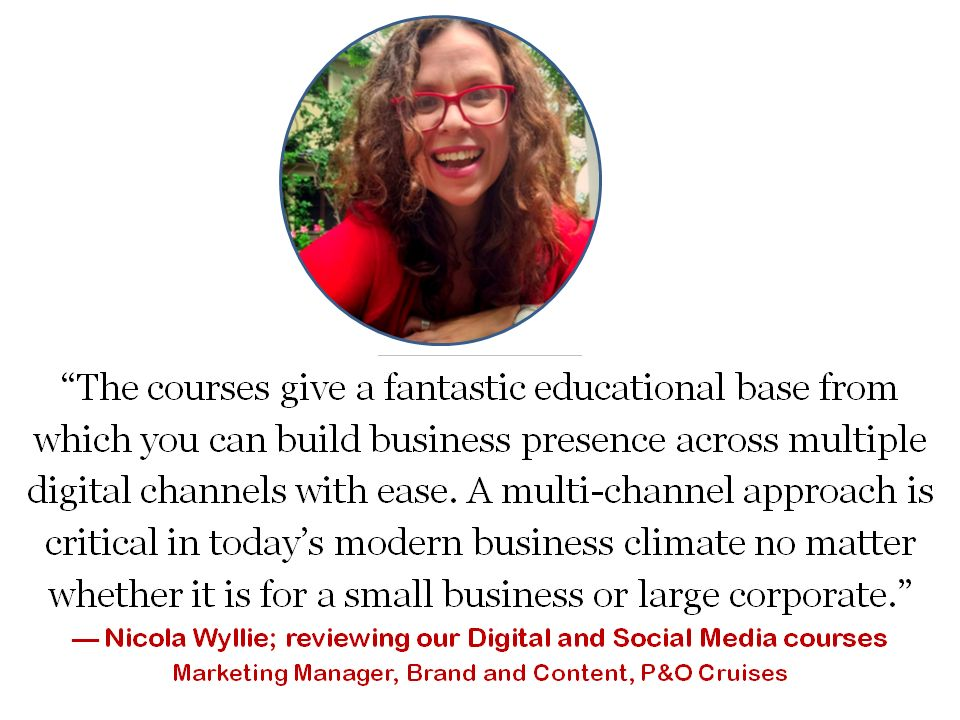 testimonial about social media digital marketing online training course