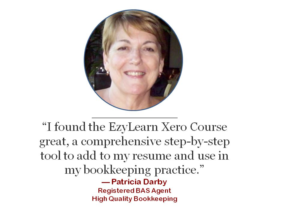testimonial from a registered BAS agent for Xero online training course