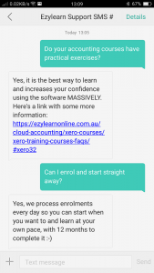 Online accounting training course support for Xero Learn, MYOB, QuickBooks Pro Support - Applied Education for jobs - EzyLearn