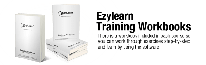 MYOB and Microsoft Excel training course workbooks