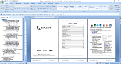 microsoft word training courses 9 courses 9 workbooks exercise files