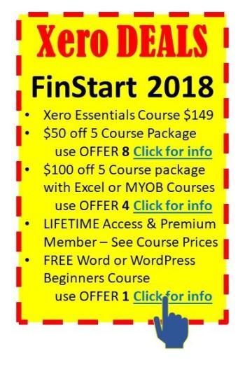 Cheap Courses FinStart 2018 Xero Essentials Beginners Training Courses, payroll, BAS, Bank Recs and Feeds