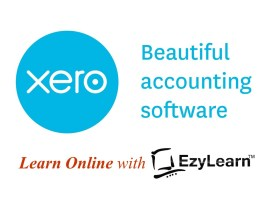 Learn How to use Xero with EzyLearn Online Training Courses logo