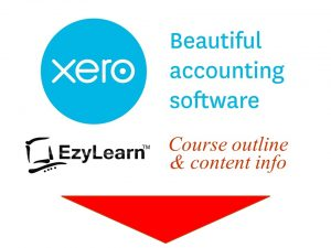 More Detailed information about learning Xero bookkeeping software with EzyLearn