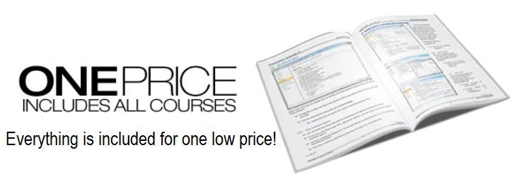 one cheap low price for all MYOB accounting online training courses logo