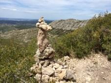 Montagne sainte victoire-au dessus du refuge Cezanne