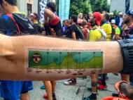 Dénivelé Marathon du Mont Blanc
