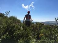 Entrainement sur le plateau de Caussol