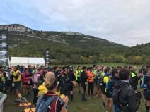 Départ trail de Pichauris