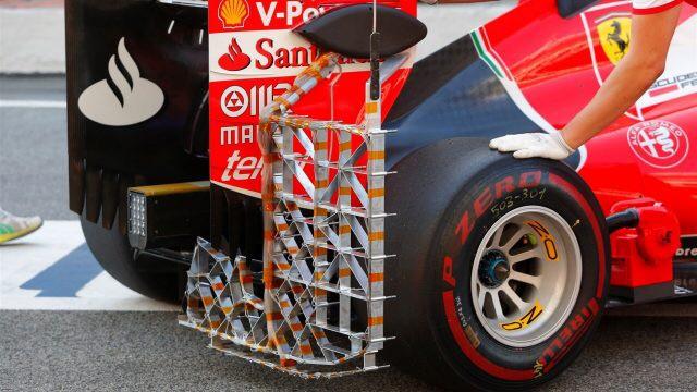 Ferrari Rear / IN-SEASON TEST-1 Circuit de Catalunya-Barcelona – 12nd May2015