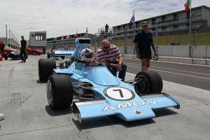 Chris Amon, Amon AF101 / Chris Amon Racing, 1974