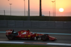 The Abu Dhabi test was the longest single day group test in the history of the sport / Ferrari / Pirelli tyre test, 1st December 2015, Abu Dhabi