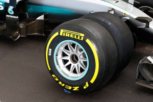 pic-12 / FOURTH TEST WITH MERCEDES AMG PETRONAS F1 TEAM: Pascal Wehrlein tests at Circuit Paul Ricard, France, THE WIDER TYRES FOR NEXT SEASON
