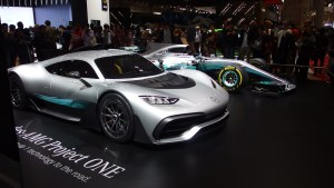 Mercedes AMG Project ONE and F1 W08 EQ Power+