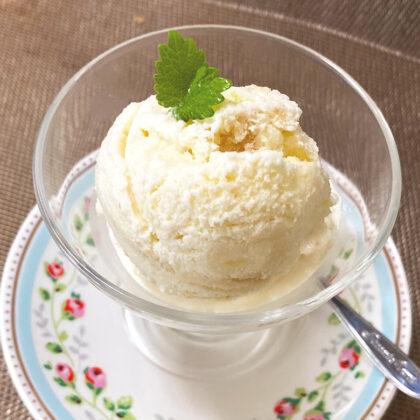 リンゴの豆乳生クリームアイス