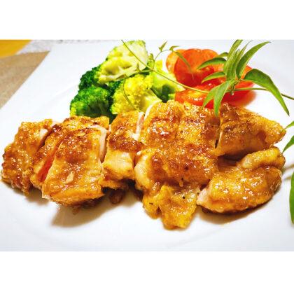 鶏もも肉の梅干し・柚子胡椒焼き