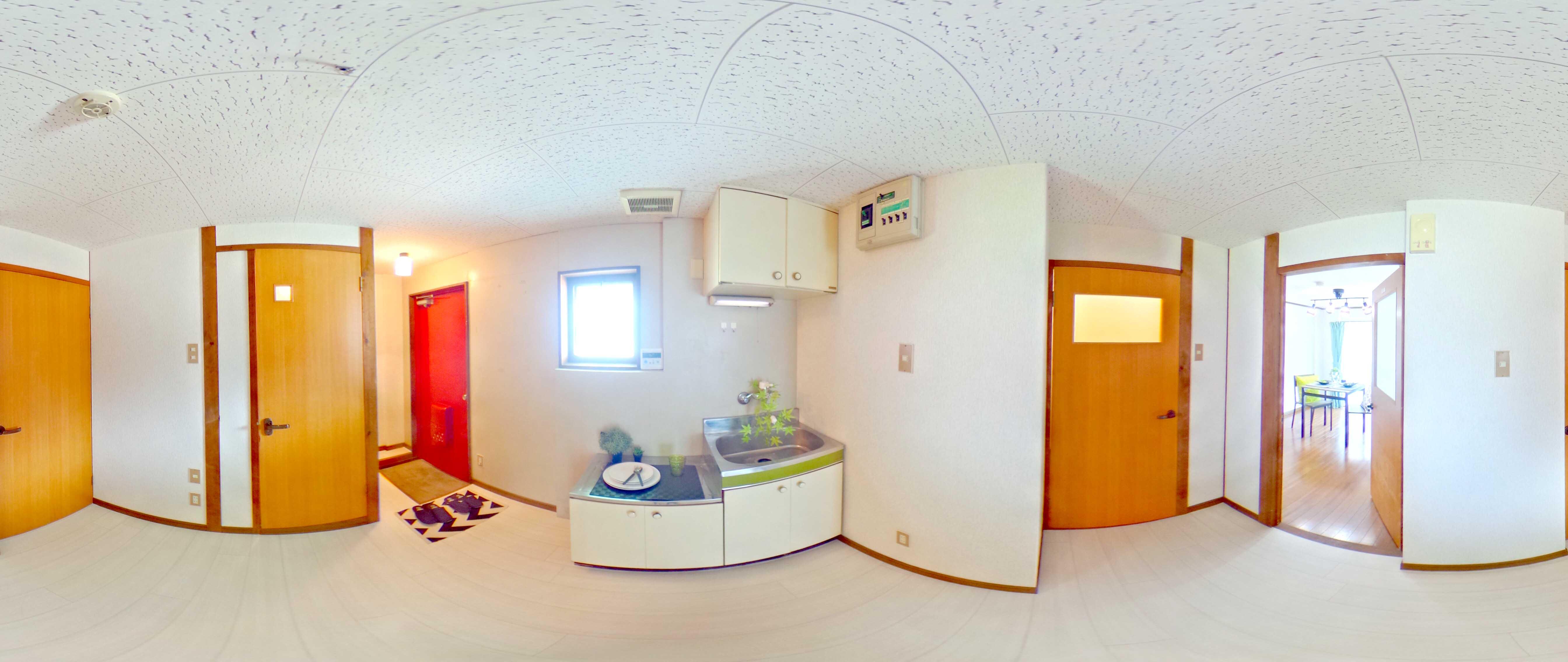 ホームステイジング :360度カメラ