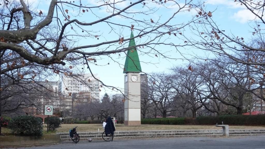 猿江恩賜公園時計台
