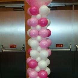 Balonková sloup slavnostní