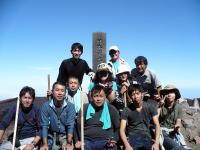 冒険家と富士登山