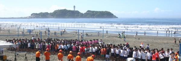 第6回神奈川県中学生ビーチバレー大会