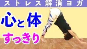 【動画】ストレス解消ヨガ