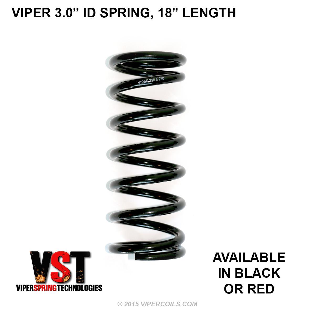 Viper 3 0 Inch Id Spring 18 Inch Length